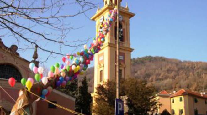 calza befana a Sant'Olcese
