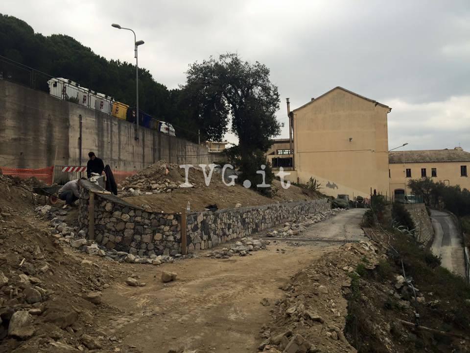 Via Giotto Albenga Cantiere