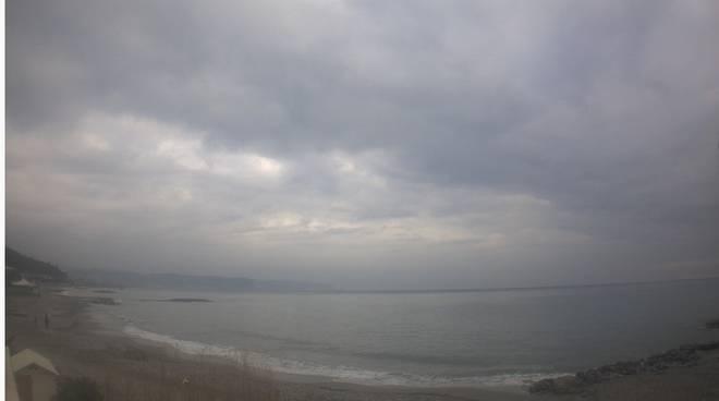 Meteo Ceriale 20/01/2016 nuvoloso