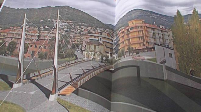 Giampedrone, ponte sul Maremola