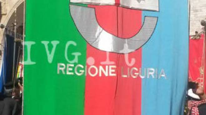 gonfalone regione liguria