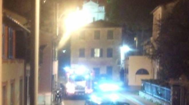 Incendio nella centrale del Latte a Rapallo