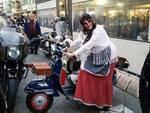 La Befana in moto a Sestri Levante