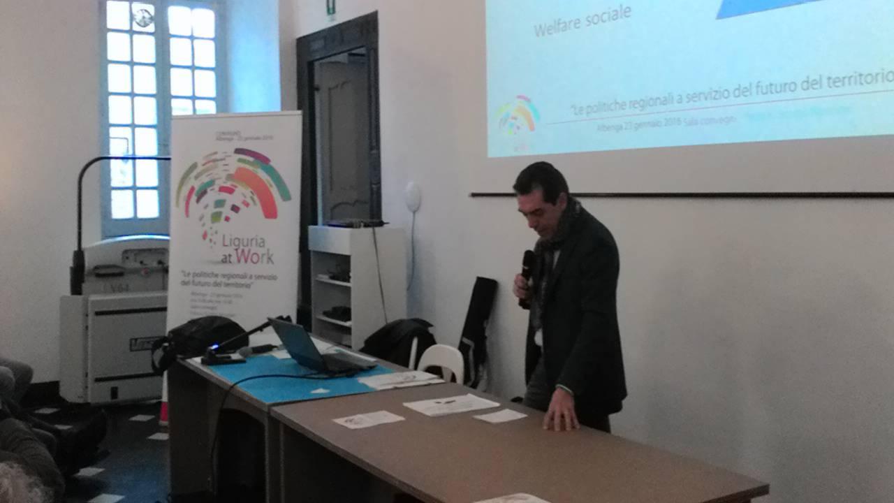 """""""Liguria at work"""": il convegno organizzato ad Albenga dal Pd"""
