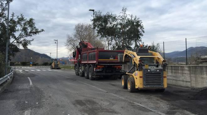 manutenzione asfalto lavori albenga