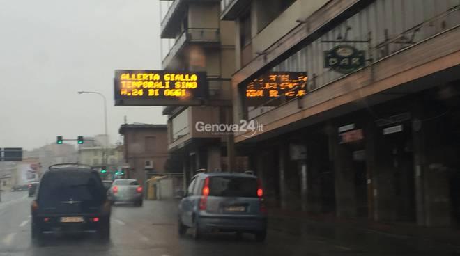 pannelli informativi comune di Genova
