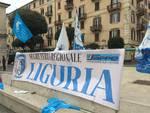 Savona, la protesta del Sappe contro la chiusura del carcere