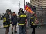 Sciopero dei vigili del fuoco