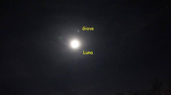 luna e giove associazione astrofili orione