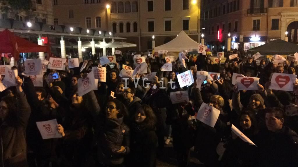 #svegliatisavona, manifestazione pro unioni civili