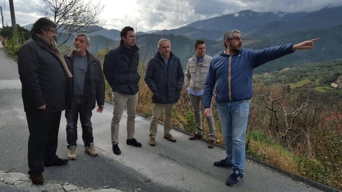 Vaccarezza Giampedrone Visita Tovo