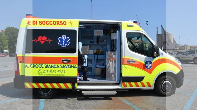 ambulanza croce bianca savona tour interattivo