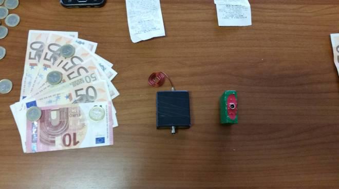 arresto furto slot carcare