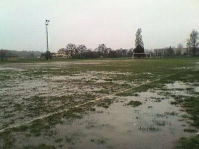 calcio pioggia