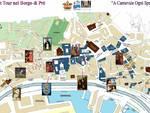Cartina del ghost tour nel borgo di Prè