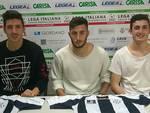 Claudio Morra, Velerio Zigrossi, Mattia Placido