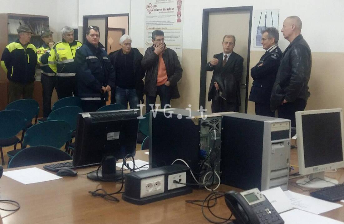 Savona centro operativo misto protezione civile