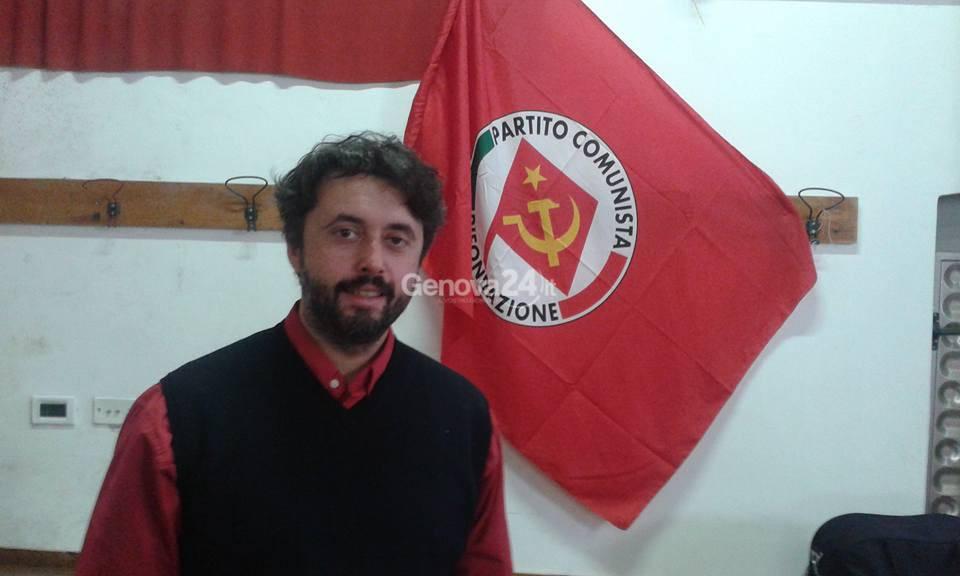 Davide Ghiglione, segretario provinciale di Rifondazione
