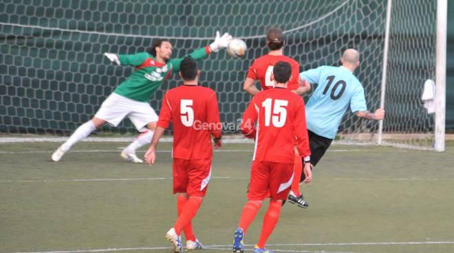 FOOTBALL GENOVA CALCIO / MAGRA AZZURRI eccellenza girone a