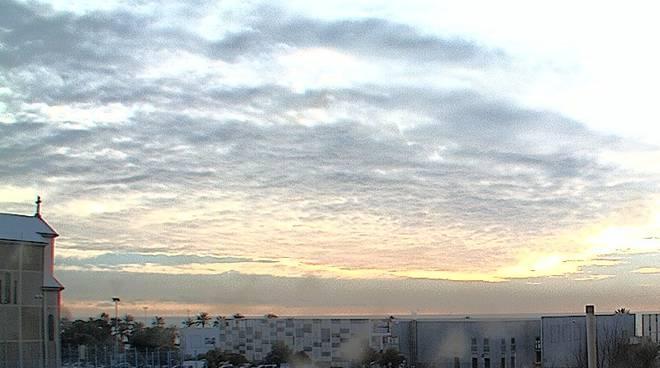 Savona Sole Nuvole 13/02/2016 Meteo