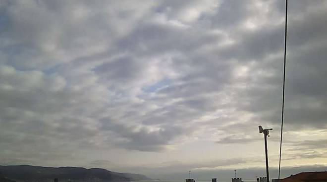 Loano Meteo 26/02/2016 Nuvoloso Variabile