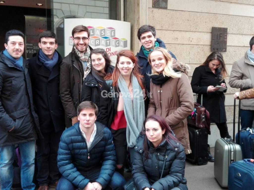 Giovani del Pd Liguria alla scuola di formazione politica