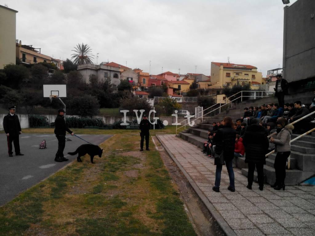 Gli studenti delle scuole di Noli e Spotorno a lezione di legalità dai carabinieri