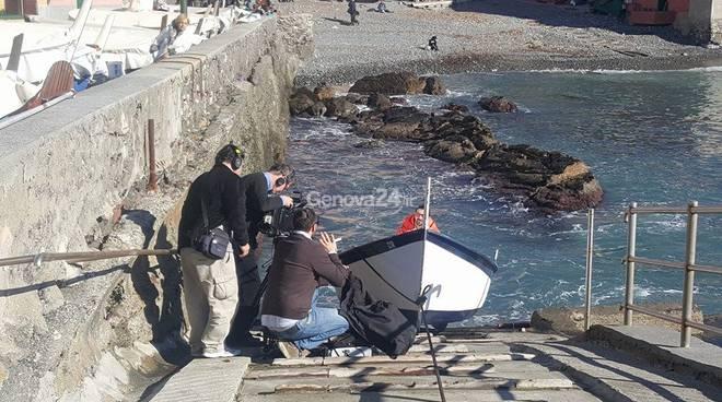 Immagini dello spot promozionale della Liguria