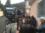 Kavo Promedi, tir e guardie armate per portar via gli impianti