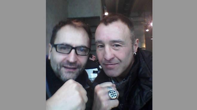 Lorenzo Dibari e Marco Costaguta