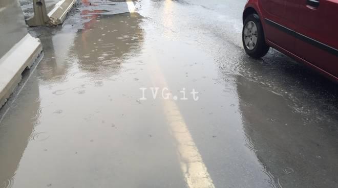 pioggia pozzanghera