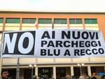 No ai nuovi parcheggi a pagamento a Recco, manifestazione