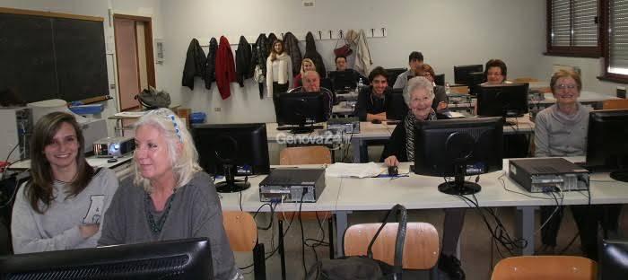 Nonni su Internet al Liceti