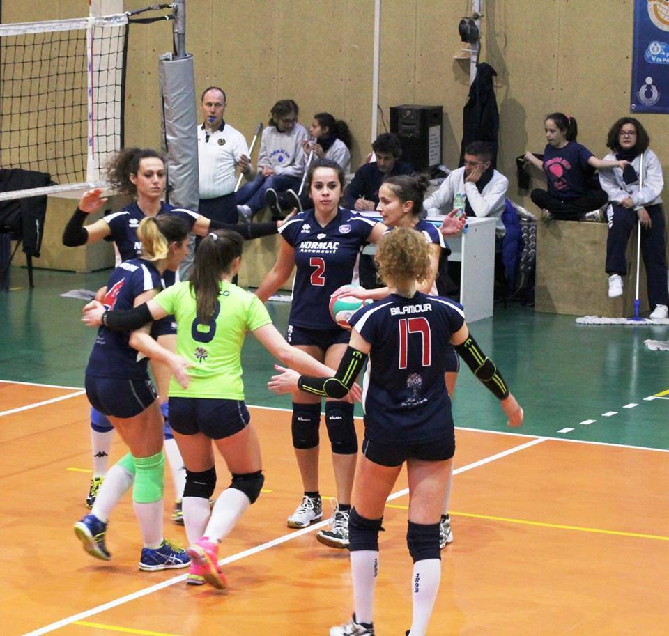Normac AVB Genova, Volley 2001 Garlasco