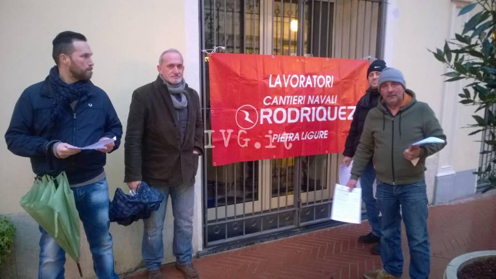 Pietra, i lavoratori dei Rodriquez di nuovo in consiglio comunale