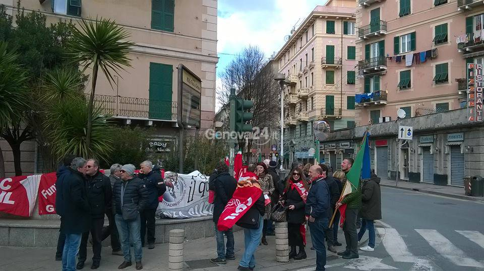 Presidio antifascista a Certosa