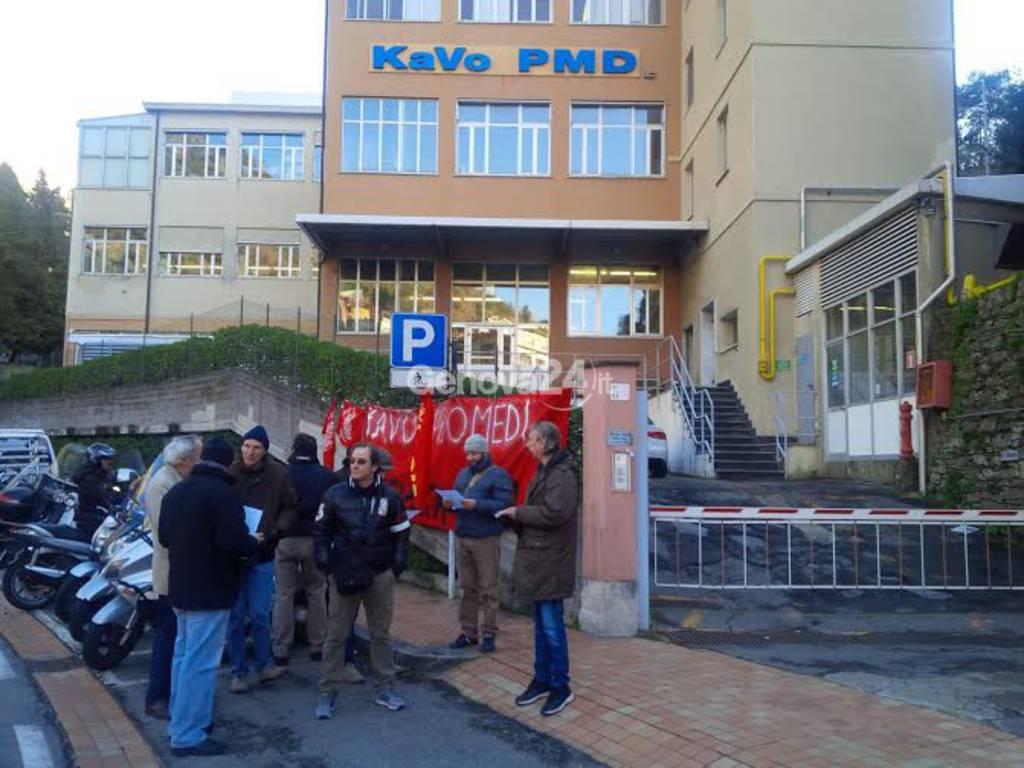 Presidio permanente alla Kavo Promedi