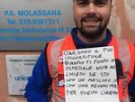 Pubblica assistenza Molassana, i volontari si schierano per gli #ugualidiritti