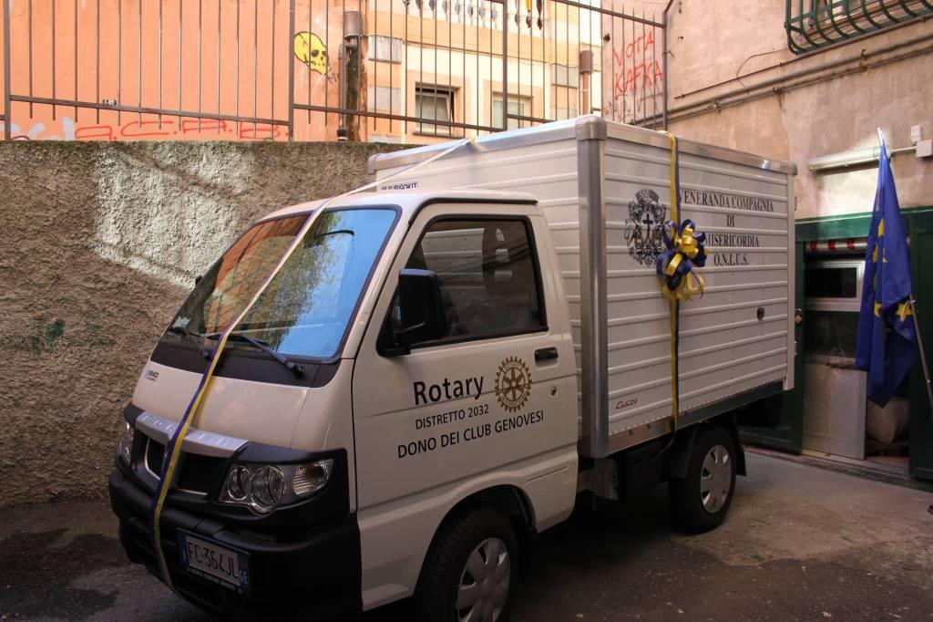 rotary donazione compagnia misericordia