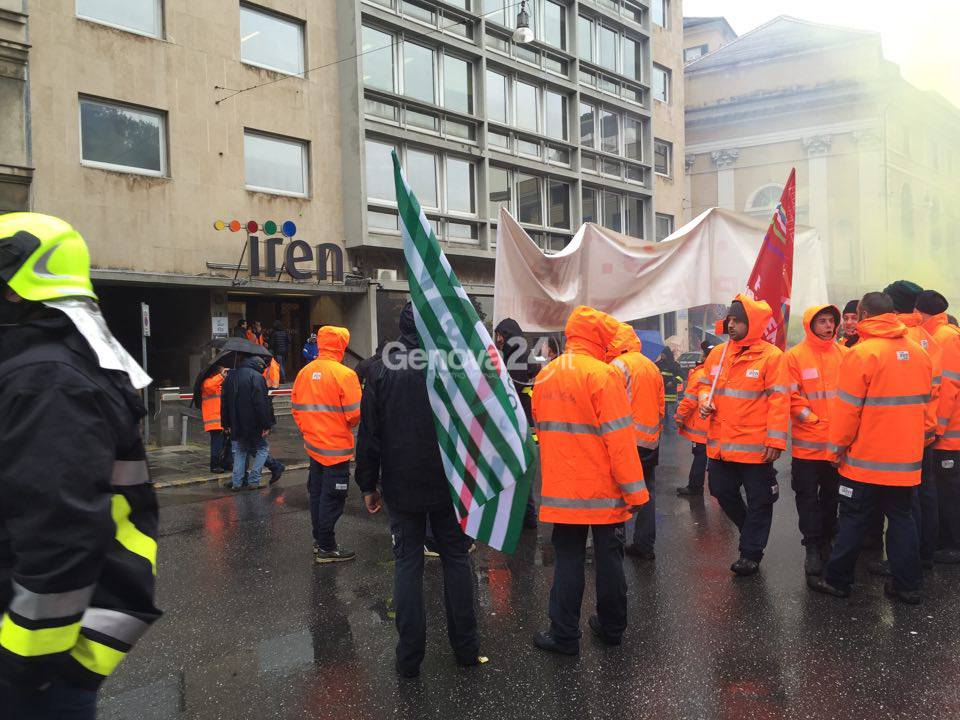 Sciopero lavoratori Iren