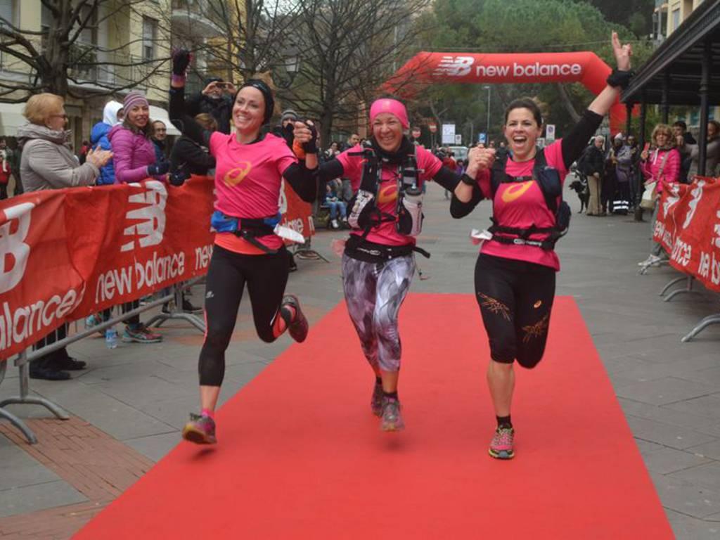 Three for Team trail