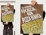 Focaccia Pizza Bianca Locandina