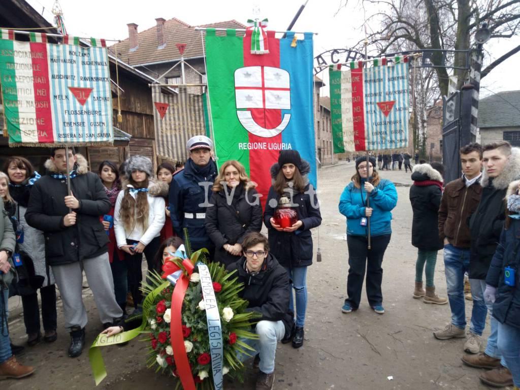 Studenti Liguria Auschwitz