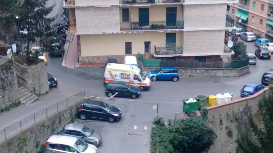 Via Edera, cedimenti del muro di contenimento di Casa Bozzo