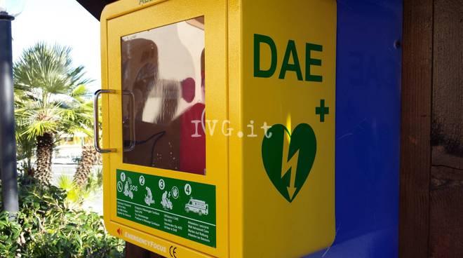 Boissano inaugura un nuovo defibrillatore