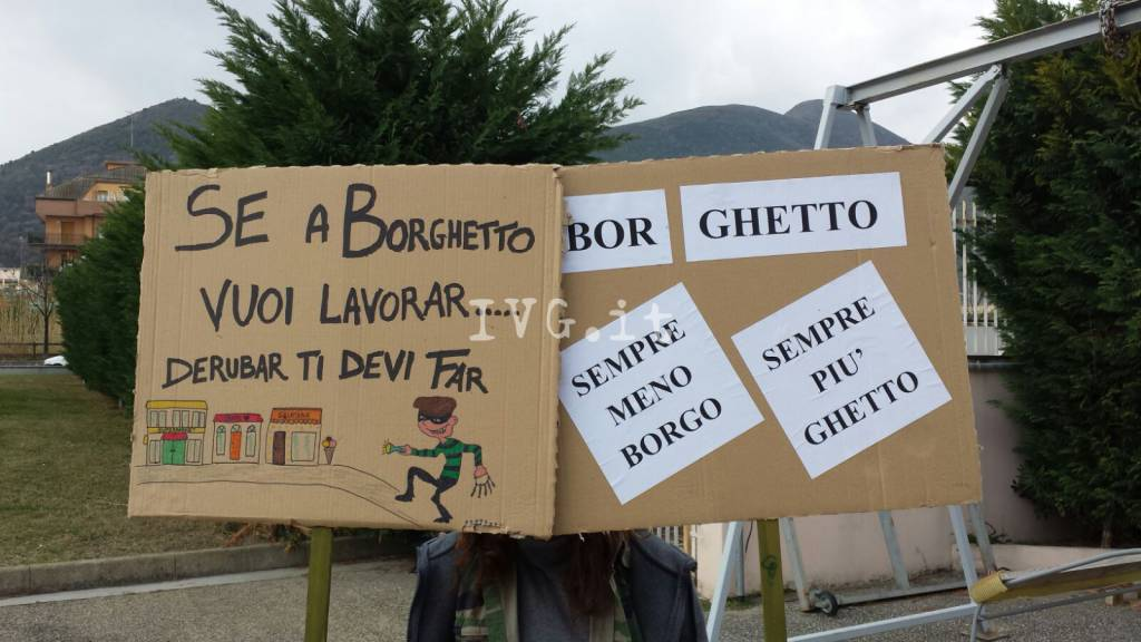 borghetto protesta commercianti