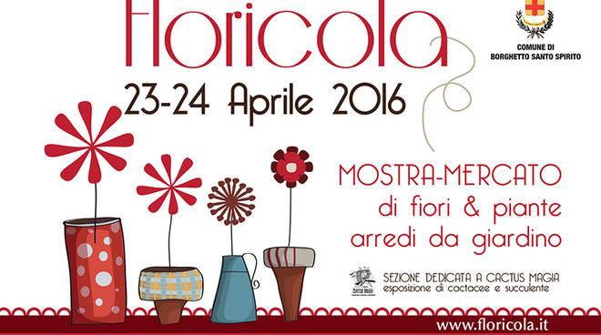 Floricola mostra mercato giardinaggio Borghetto Santo Spirito