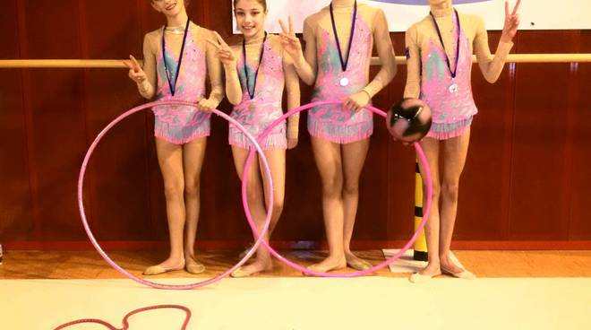 ginnastica ritmica ginnastica libera spotorno