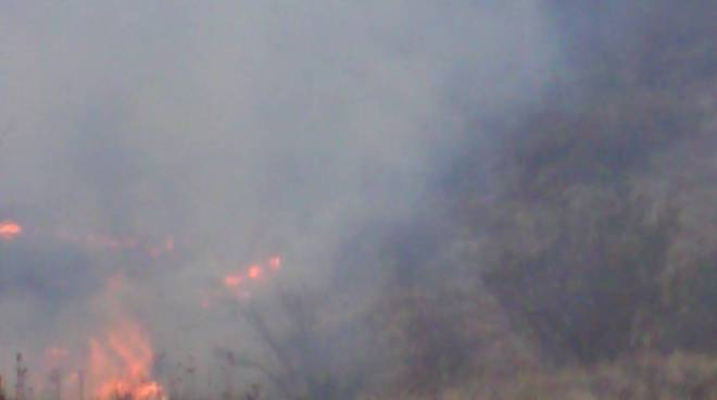Incendio monte fasce