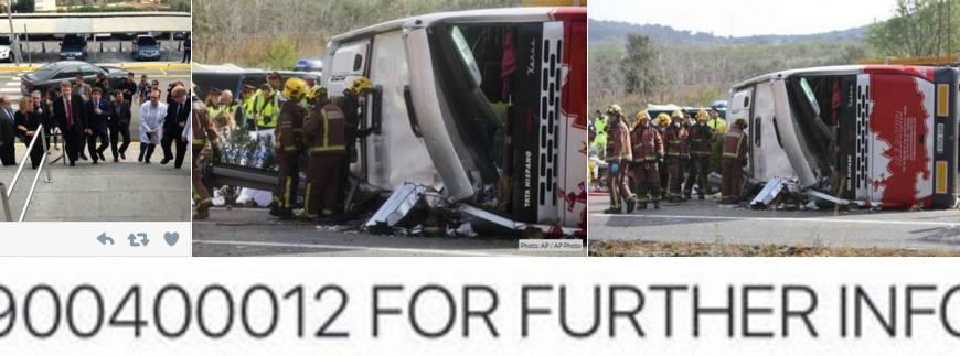 incidente bus spagna
